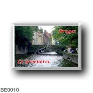 BE0010 Europe - Belgium - Bruges - Le Groenerei