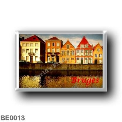 BE0013 Europe - Belgium - Bruges - Le Maisons