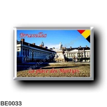 BE0033 Europe - Belgium - Brussels - Bruxelles - La place des Martyrs