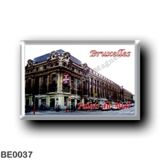 BE0037 Europe - Belgium - Brussels - Bruxelles - Palais du Midi