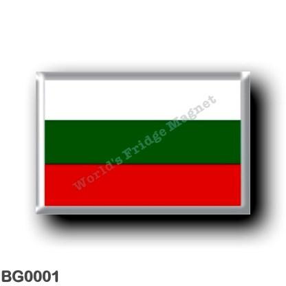 BG0001 Europe - Bulgaria - Bulgarian flag