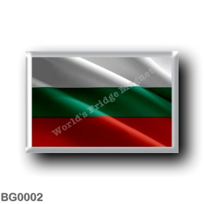 BG0002 Europe - Bulgaria - Bulgarian flag - waving