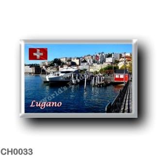 CH0033 Europe - Switzerland - Lugano - Landing Stage