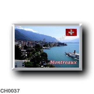 CH0037 Europe - Switzerland - Montreaux - Downtown