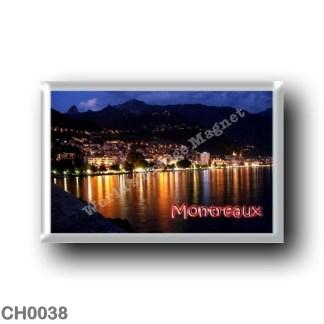 CH0038 Europe - Switzerland - Montreaux - By Night