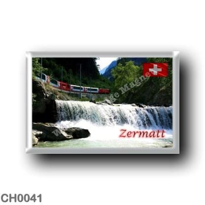 CH0041 Europe - Switzerland - Zermatt - Glacier Express