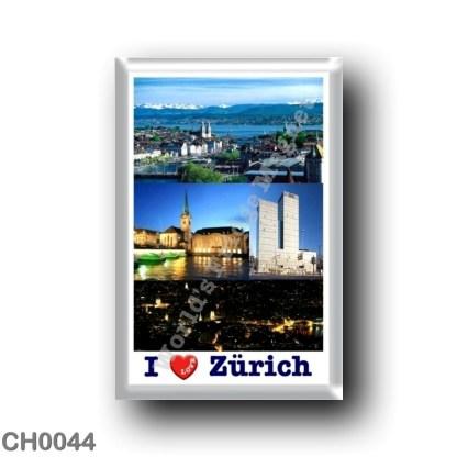 CH0044 Europe - Switzerland - Zurich - I Love