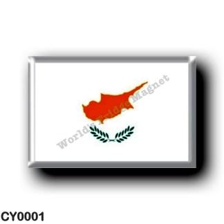 CY0001 Europe - Cyprus - Flag