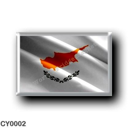 CY0002 Europe - Cyprus - Flag Waving