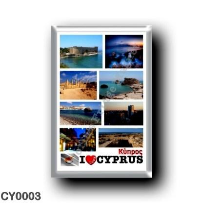 CY0003 Europe - Cyprus - I Love