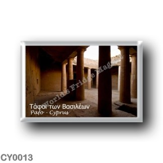 CY0013 Europe - Cyprus - Le Tombe dei Re
