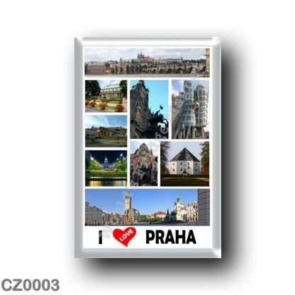 CZ0003 Europe - Czech Republic - Praha - Prague - I Love