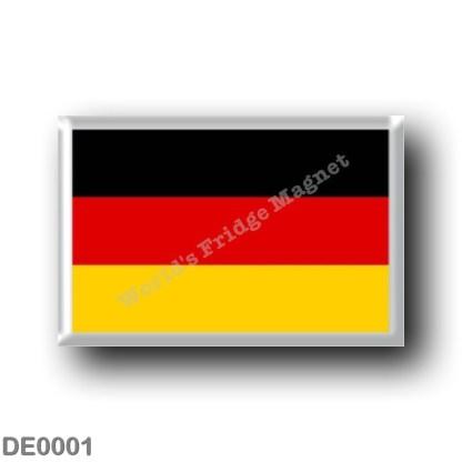 DE0001 Europe - Germany - Flag
