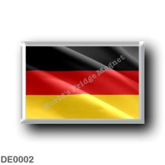 DE0002 Europe - Germany - Flag Waving