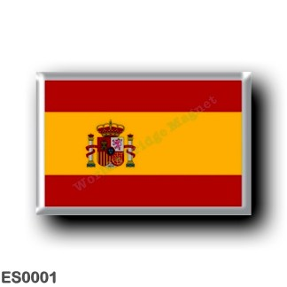 ES0001 Europe - Spain - Spanish flag