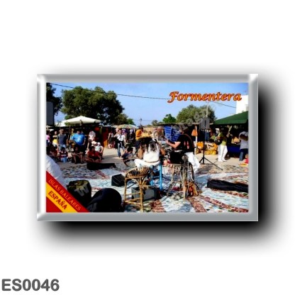 ES0046 Europe - Spain - Balearic Islands - Formentera - Hippy Market at Pilar De La Mola