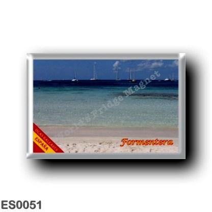 ES0051 Europe - Spain - Balearic Islands - Formentera - Playa
