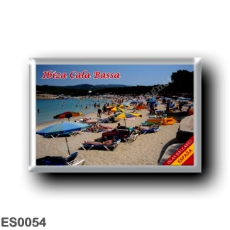 ES0054 Europe - Spain - Balearic Islands - Ibiza - Eivissa - Cala Bassa