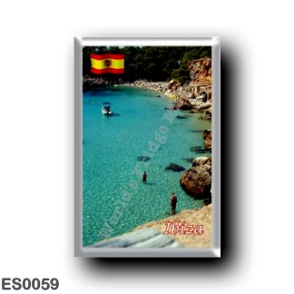 ES0059 Europe - Spain - Balearic Islands - Ibiza - Eivissa - Plage