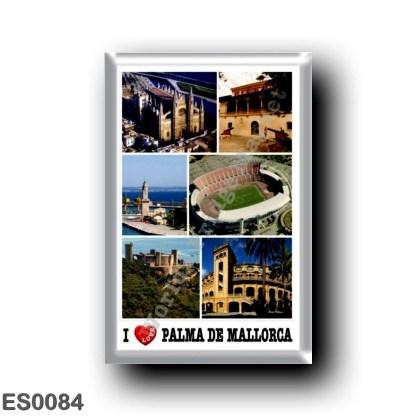 ES0084 Europe - Spain - Balearic Islands - Majorca - Palma De Mallorca - I Love