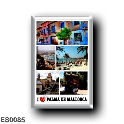 ES0085 Europe - Spain - Balearic Islands - Majorca - Palma de Mallorca - I Love
