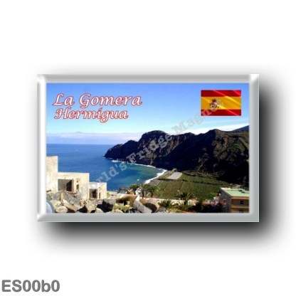 ES00b0 Europe - Spain - Canary Islands - La Gomera - Hermigua - Costa