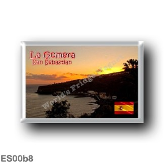 ES00b8 Europe - Spain - Canary Islands - La Gomera - Tramonto