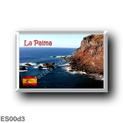ES00d3 Europe - Spain - Canary Islands - La Palma - Panorama