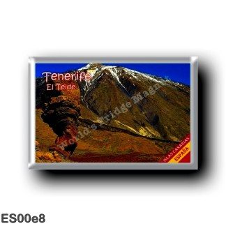 ES00e8 Europe - Spain - Canary Islands - Tenerife - El Teide