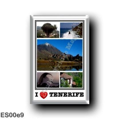ES00e9 Europe - Spain - Canary Islands - Tenerife - I Love
