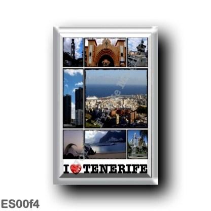 ES00f4 Europe - Spain - Canary Islands - Tenerife - Santa Cruz de Tenerife - I Love