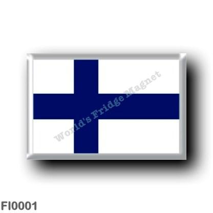 FI0001 Europe - Finland - Finnish flag