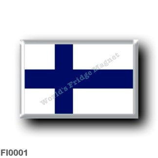 FI0001 Europe - Finland - Finnish flag