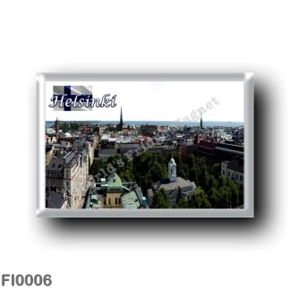FI0006 Europe - Finland - Helsinki - Helsingfors - Panorama