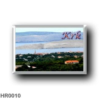 HR0010 Europe - Croatia - Otok Krk - Veglia
