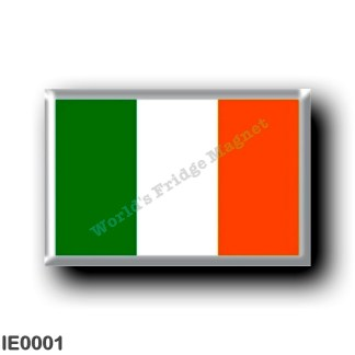 IE0001 Europe - Ireland - Irish flag