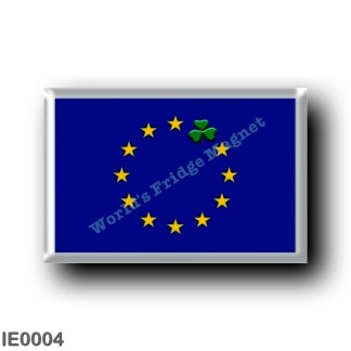 IE0004 Europe - Ireland - flag European Theme