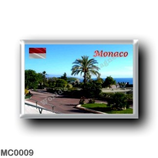 MC0009 Europe - Monaco - Jardin de Casino