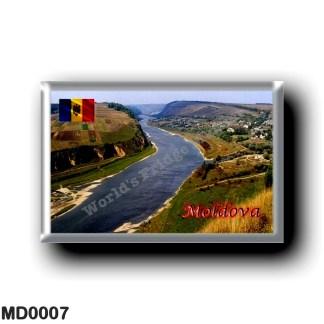 MD0007 Europe - Moldova - Valle Dniéster Panorama