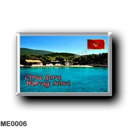 ME0006 Europe - Montenegro - Herceg Novi - Miriste Beach