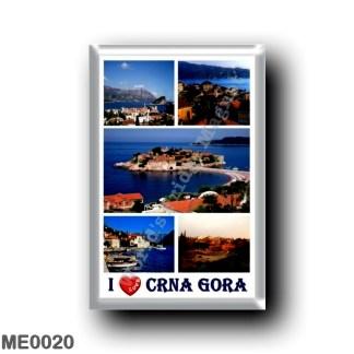 ME0020 Europe - Montenegro - I Love