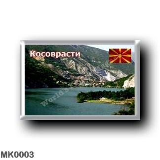 MK0003 Europe - Macedonia - Dolno Kosovrasti - Fiume Radika