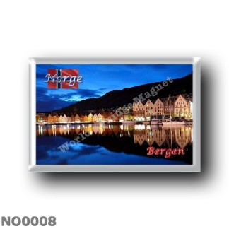 NO0008 Europe - Norway - Bergen - Bryggen