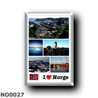 NO0027 Europe - Norway - Norge - I Love
