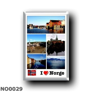 NO0029 Europe - Norway - Norge - I Love