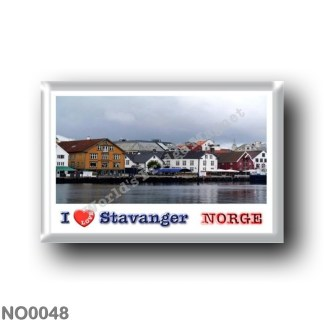 NO0048 Europe - Norway - Stavanger - I Love
