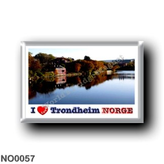 NO0057 Europe - Norway - Trondheim - I Love