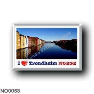 NO0058 Europe - Norway - Trondheim - I Love