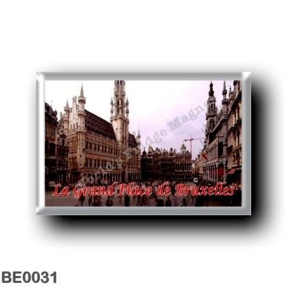 BE0031 Europe - Belgium - Brussels - Bruxelles - La Grand-Place de Bruxelles