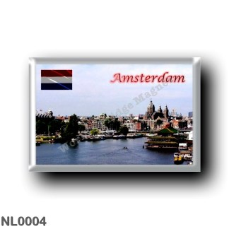 NL0004 Europe - Holland - Amsterdam - Panorama